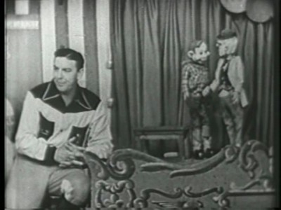 howdy doody show. on the HOWDY DOODY SHOW.